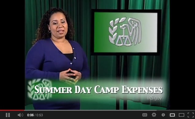 summer day camp expenses