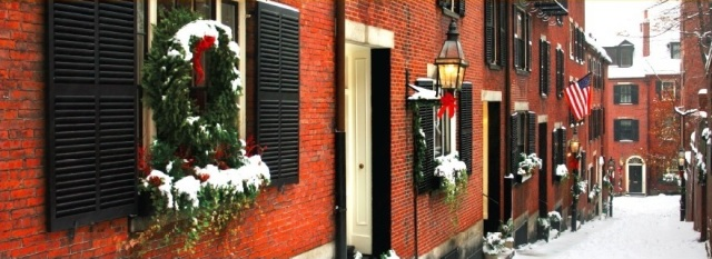 Boston brick building