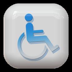 wheelchair button